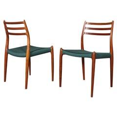 N. O. Møller Side Chairs