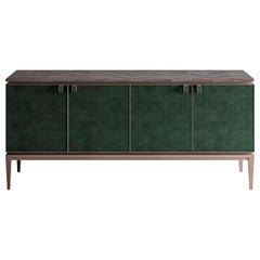 Nabuk Leather Sideboard