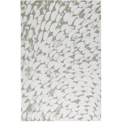 Nacre 10x8 Rug in Linen by The Rug Company