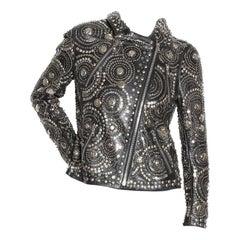 Naeem Khan Studded Leather Jacket F/W 2010
