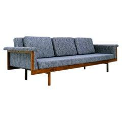 """Naeko"" Sofa by Kazuhide Takahama for Gavina, Italy, Reupholstered"
