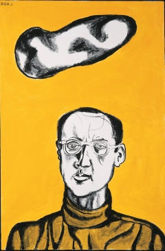 Self Portrait - Contemporary Art, Portraiture, Mid 20th Century