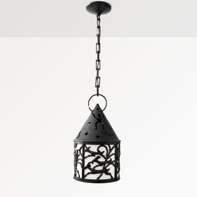 A rare Scandinavian Modern cast iron