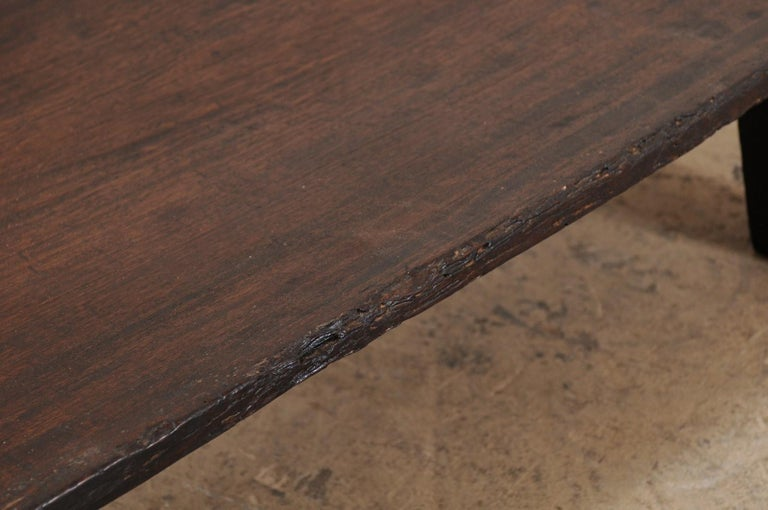 Naga Wood Coffee Table or Bench from the Early 20th Century For Sale 4