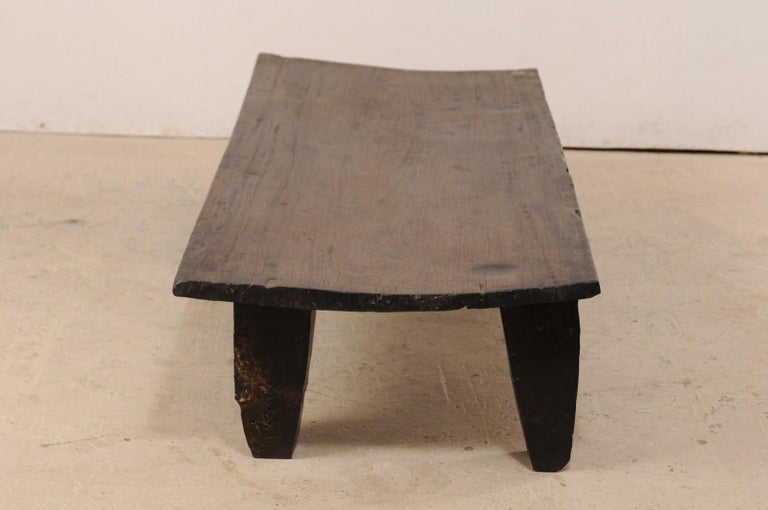 Naga Wood Coffee Table or Bench from the Early 20th Century For Sale 2