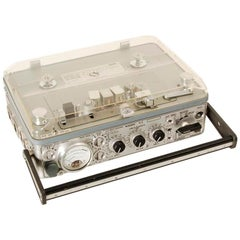 Nagra Portable Open Reel Tape Recorder, 1970