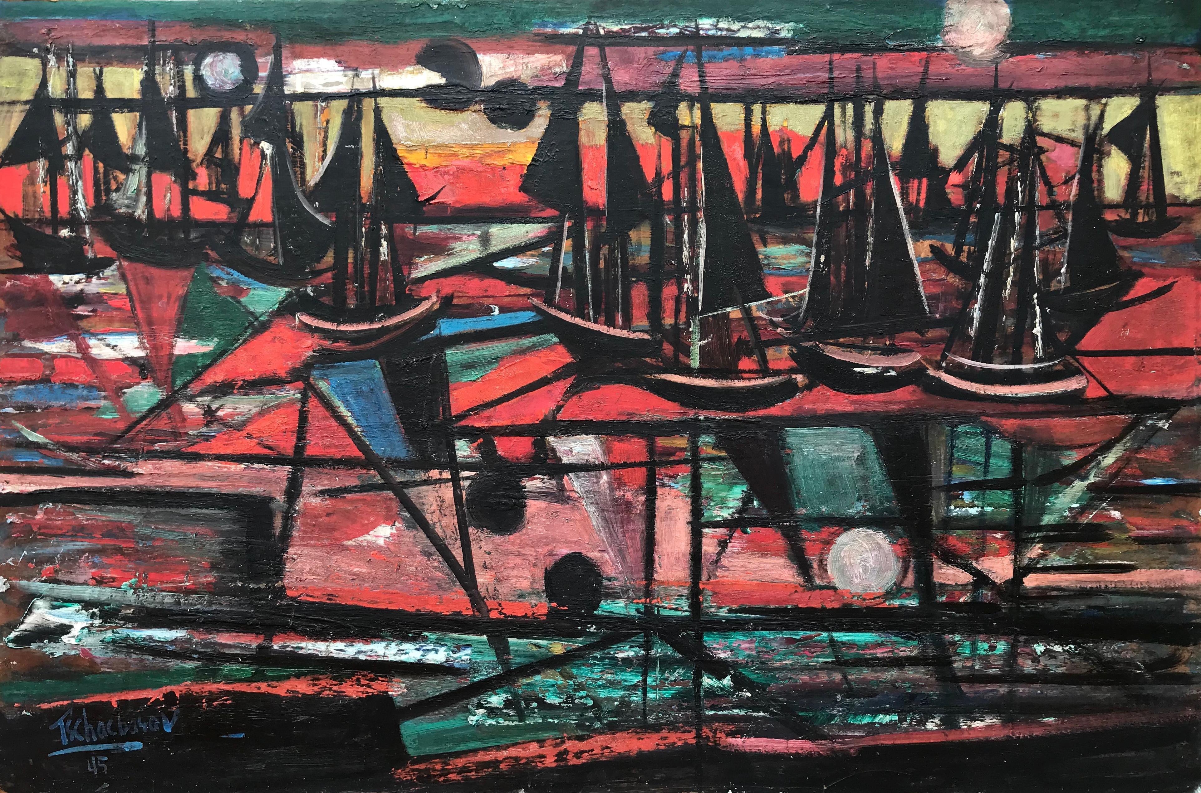 """""""Abstract Sailing, 1945"""""""