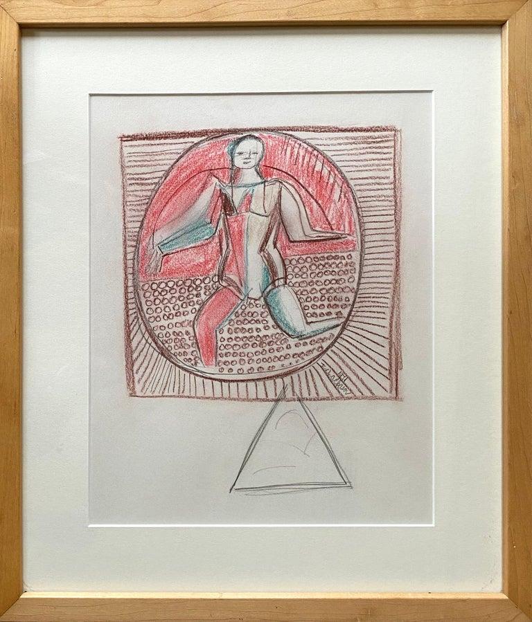 """Balancing Act"" - Painting by Nahum Tschacbasov"