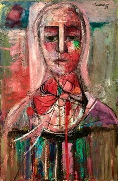 """""""Woman with Red Bow"""""""