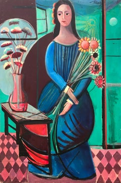 """""""Woman with Sunflowers"""""""