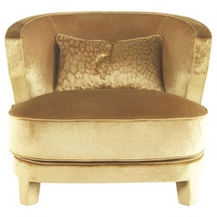 Nail.2 Armchair in Fabric by Roberto Cavalli