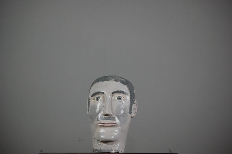 Naive 20th Century Mannequin Head For Sale 1