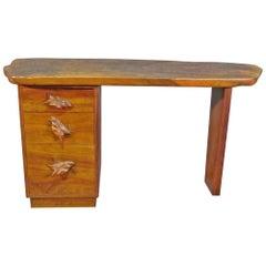 Nakashima Style Slab Desk