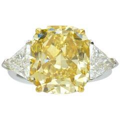Nally GIA Fancy Yellow Diamond Solitaire
