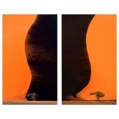 Namib Dunes, Landscape, Color Photogaphie, 2 Fine Art Prints by Rainer Martini