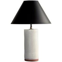 Nammos Lamp, Ceramic Sculptural Table Lamp by Dumais Made