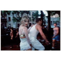 "Nan Goldin ""Jimmy Paulette on David's Bike"""