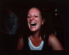 "Nan Goldin ""Self-Portrait Laughing, Paris"""