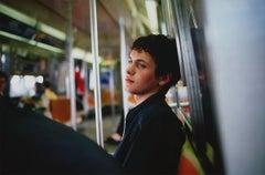 Simon on the subway