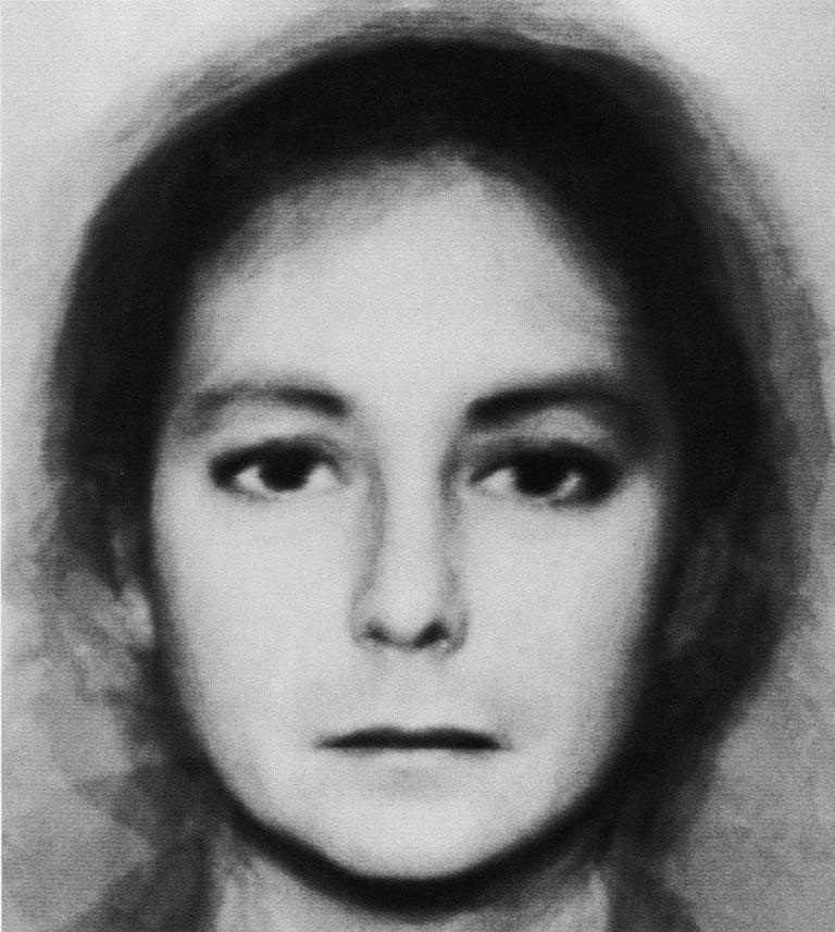 Nancy Burson Black and White Photograph - Androgyny (6 Men + 6 Women)