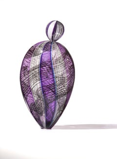 """Nikkita Paloma"", Blown Glass Sculpture, Contemporary Design"