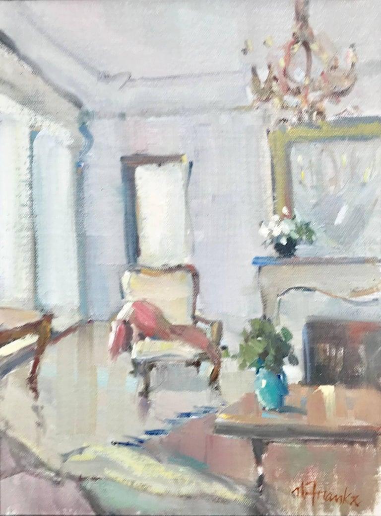 Nancy Franke - Salon de Provence, Petite Impressionist Interior ...