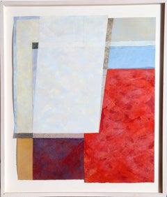 Mandu #10, Abstract Painting by Nancy Genn