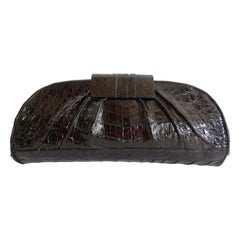 Nancy Gonzalez 2000s Genuine Crocodile Clutch