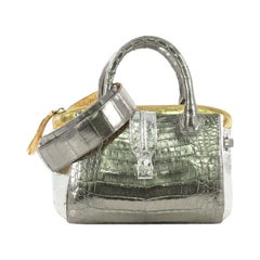 Nancy Gonzalez Cristina Tote Crocodile Small