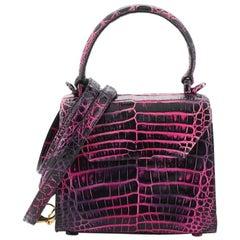 Nancy Gonzalez Lily Top Handle Bag Crocodile Mini