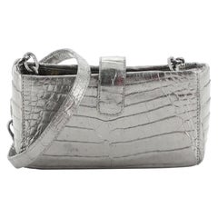 Nancy Gonzalez Phone Holder Crossbody Bag Crocodile Mini