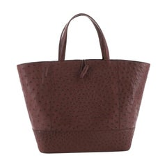 Nancy Gonzalez Tote Ostrich Large