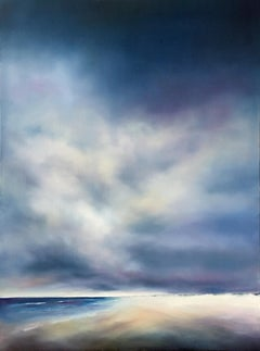 Beach Cloud Light, Oil Painting