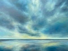 Quiet Beach Light, Oil Painting