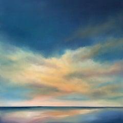 Warm Sea Light, Oil Painting