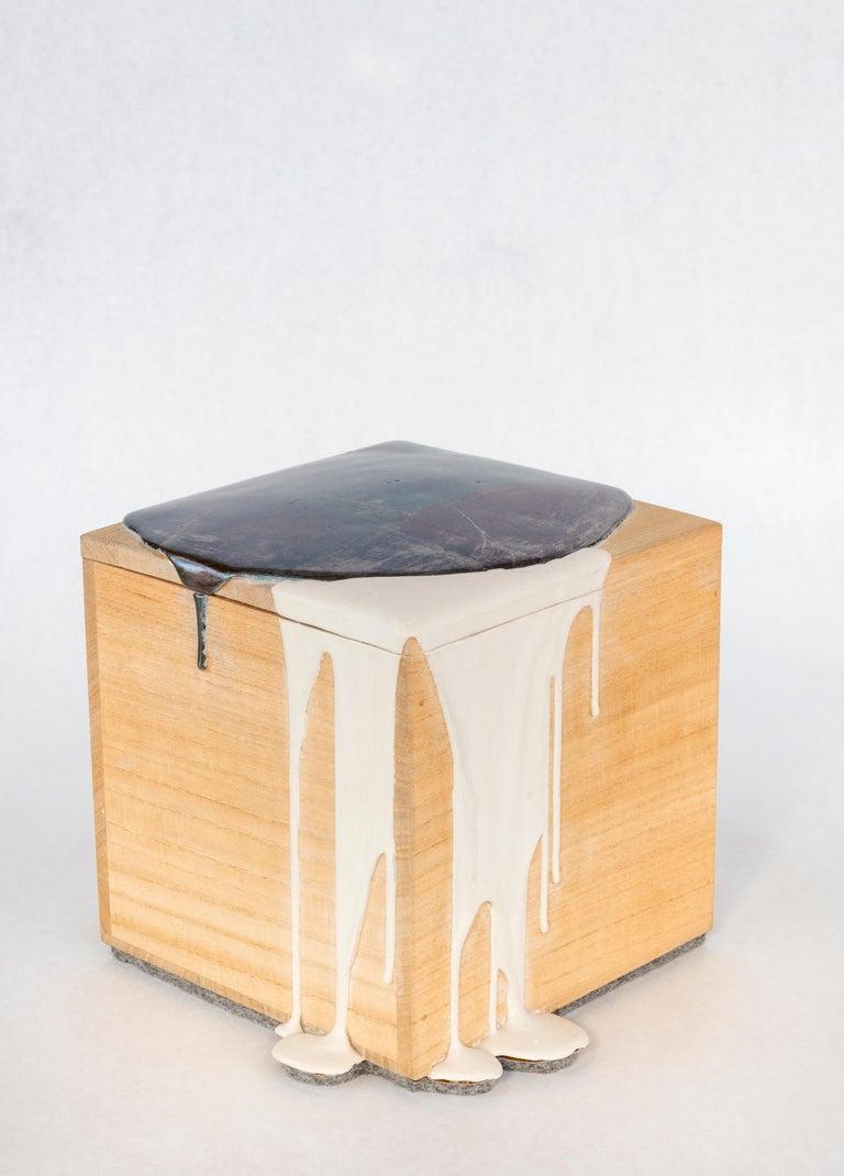 Untitled Box - Sculpture by Nancy Lorenz