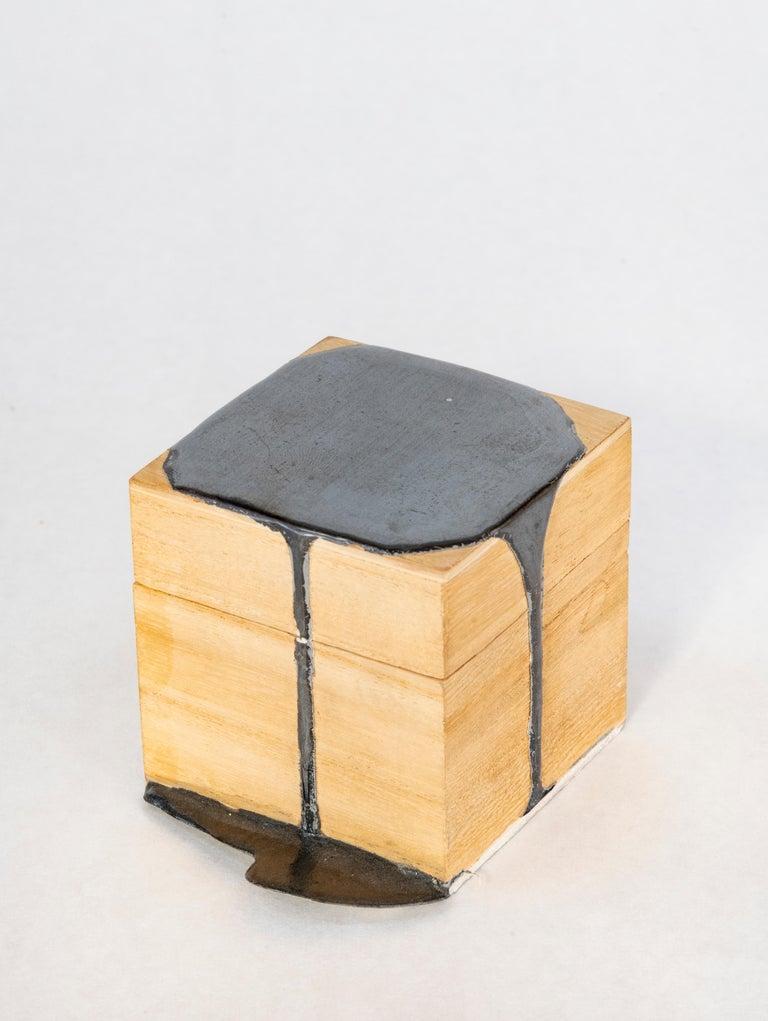 Nancy Lorenz Abstract Sculpture - Untitled Box