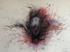 Mixed Media Painting Minnesota Woman Artist Figurative Abstract