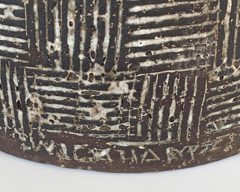 Nancy Wickham Textured Ceramic Table Lamp For Sale 2