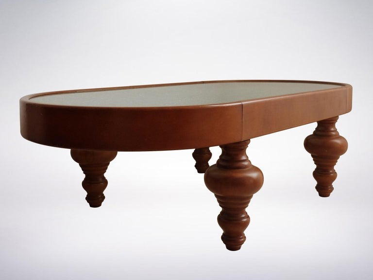 Mid-Century Modern Nanda Vigo for Vetreria Artistica Macherio, Very Rare Coffee Table, 1989 For Sale