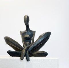 Gloria by Nando Kallweit.  Serial unique bronze sculpture
