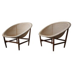 Nanna Ditzel Basket Indoor Outdoor Lounge Chairs
