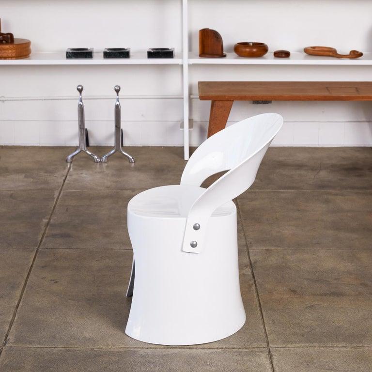 Danish Nanna Ditzel Fiberglass Accent Chair by Odense For Sale
