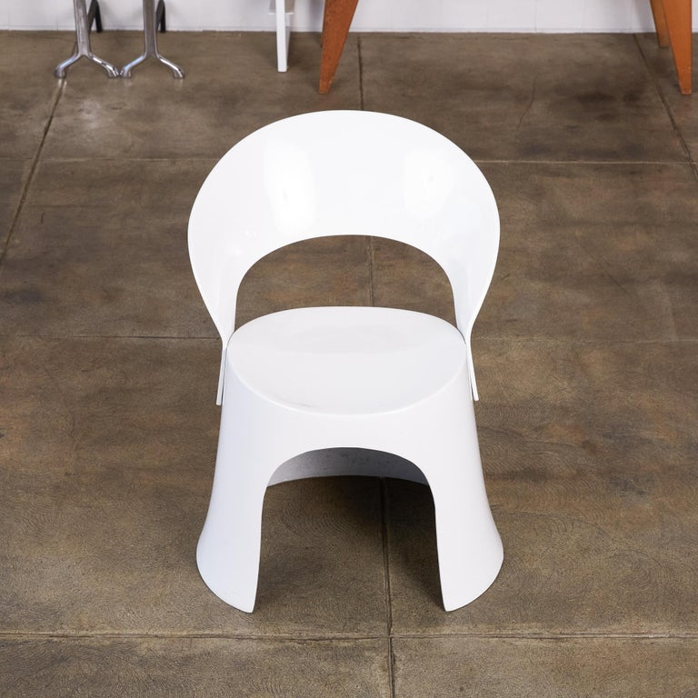 Nanna Ditzel Fiberglass Accent Chair by Odense In Excellent Condition For Sale In Los Angeles, CA