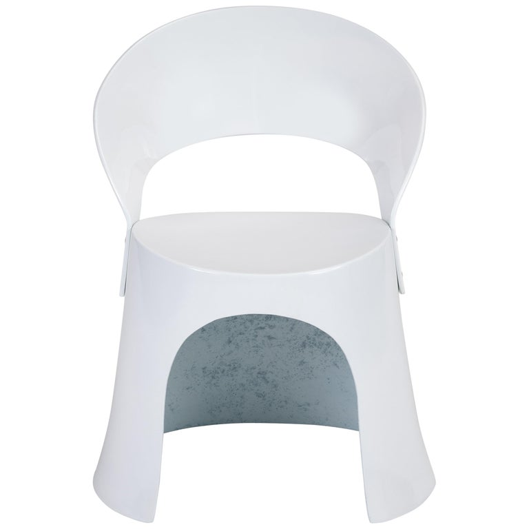 Nanna Ditzel Fiberglass Accent Chair by Odense For Sale