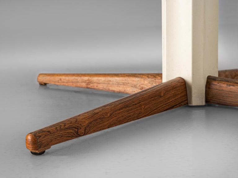 Mid-Century Modern Nanna Ditzel for Kolds Savvaerk Round Pedestal Table For Sale