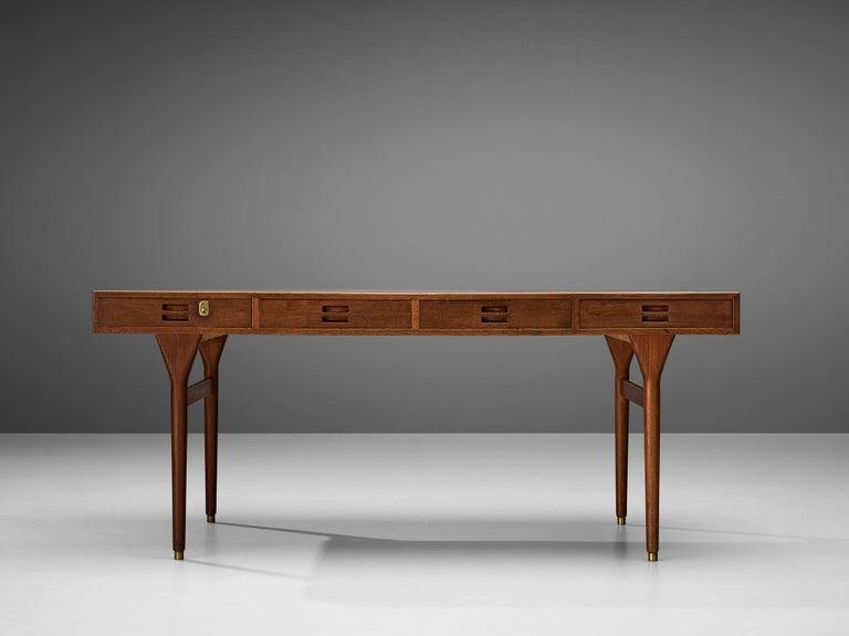 Scandinavian Modern Nanna Ditzel for Søren Willadsen Møbelfabrik Desk 'ND 93' in Teak For Sale