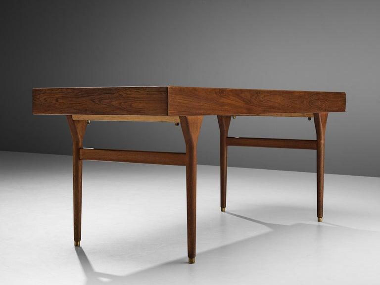 Nanna Ditzel for Søren Willadsen Møbelfabrik Desk 'ND 93' in Teak In Good Condition For Sale In Waalwijk, NL