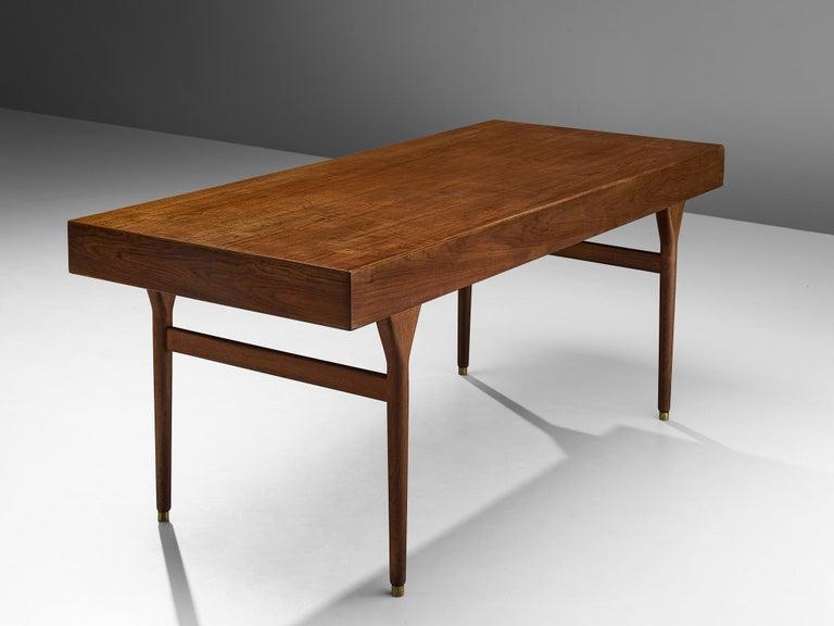 Nanna Ditzel for Søren Willadsen Møbelfabrik Desk 'ND 93' in Teak For Sale 2