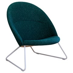 Nanna Ditzel & Jørgen Ditzel, Green Dennie Chair by One Collection